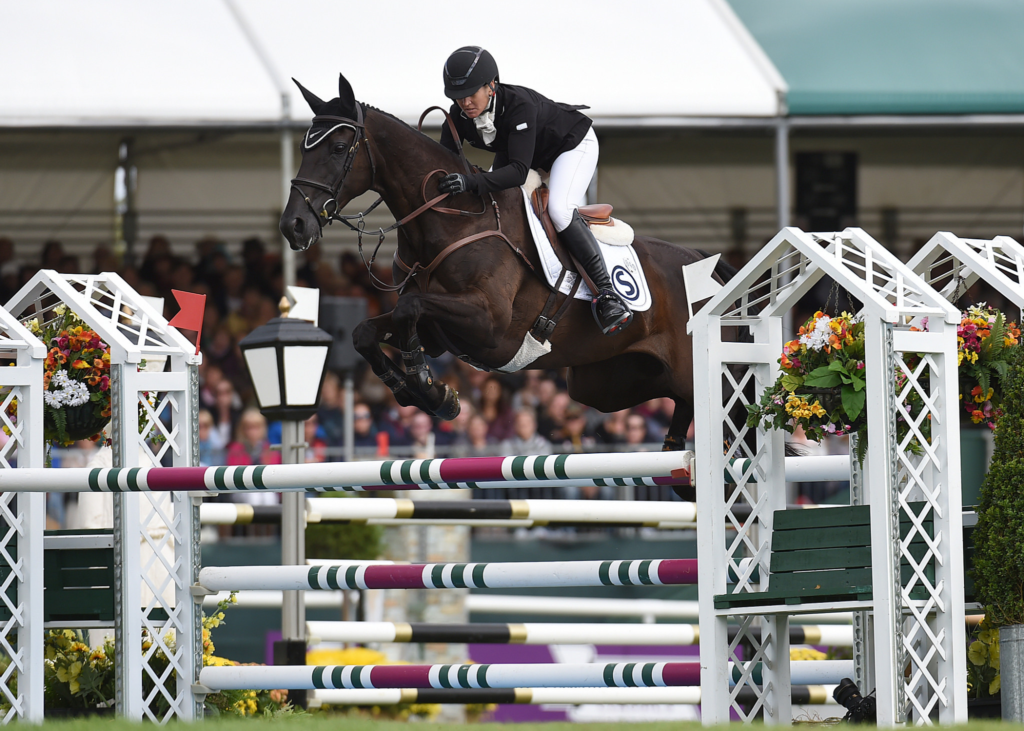 Price rises to lead Badminton Horse Trials after cross-country phase
