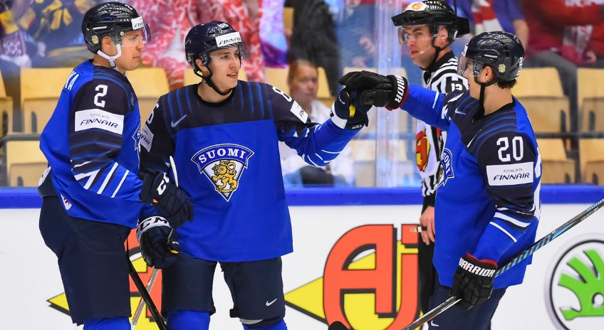 Finland were among other winners on the second day of competition ©IIHF
