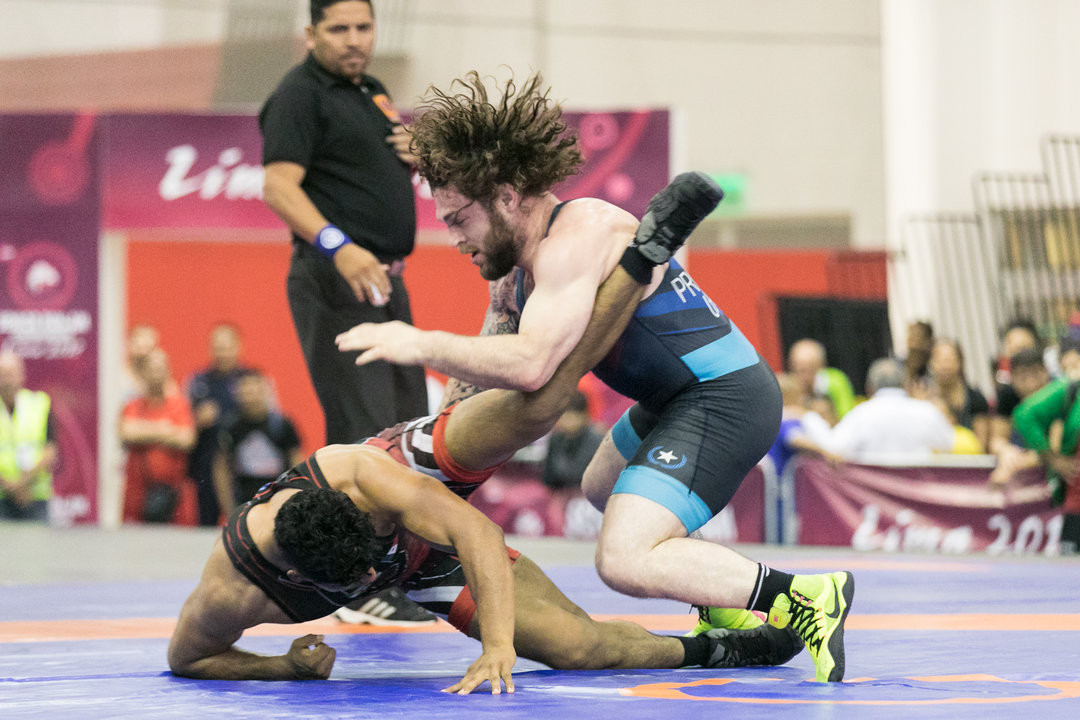 Benjamin Provisor triumphed in the men's 92kg division ©UWW