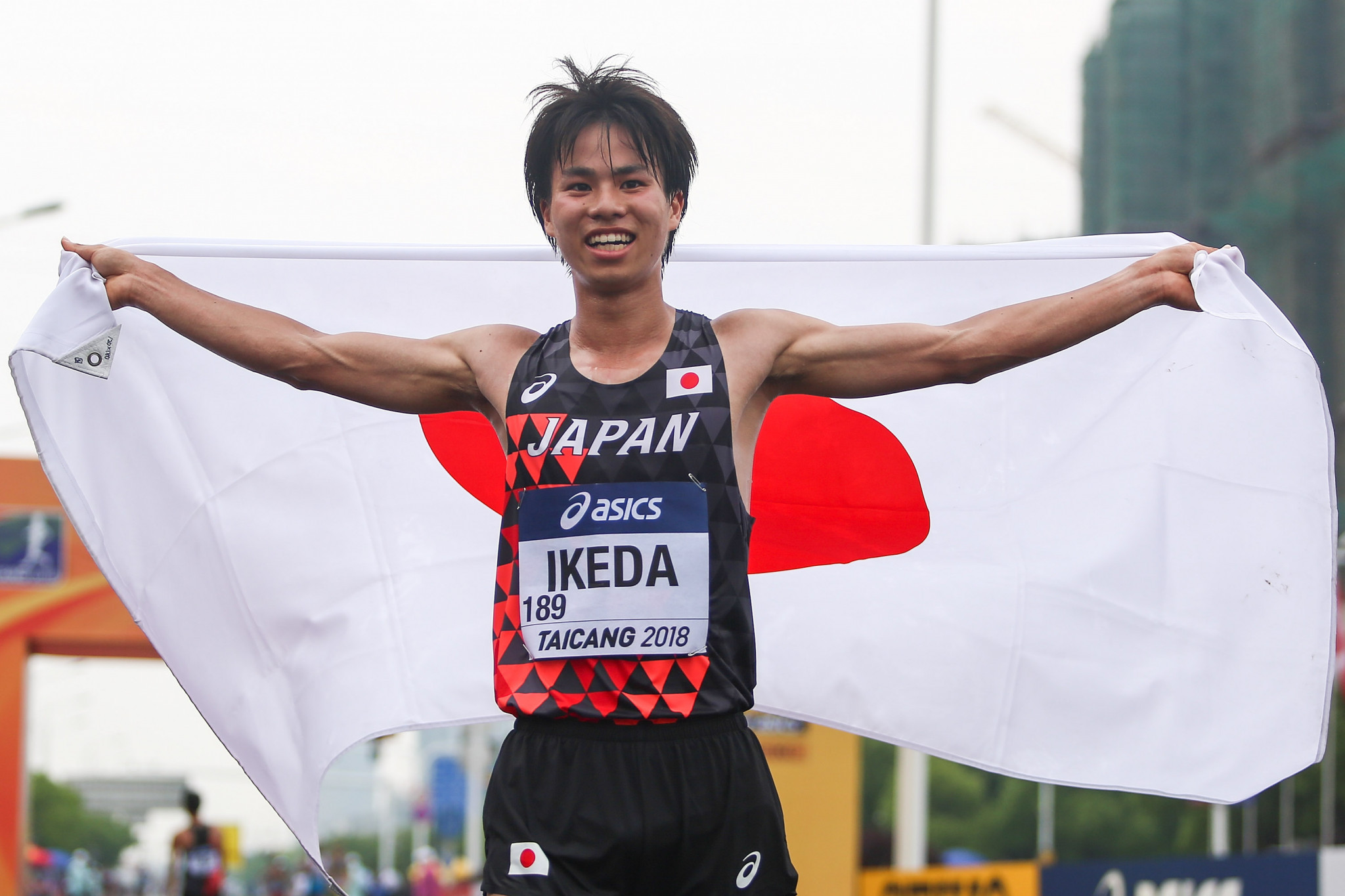 Ikeda claims men's 20km title at IAAF World Race Walking Team Championships