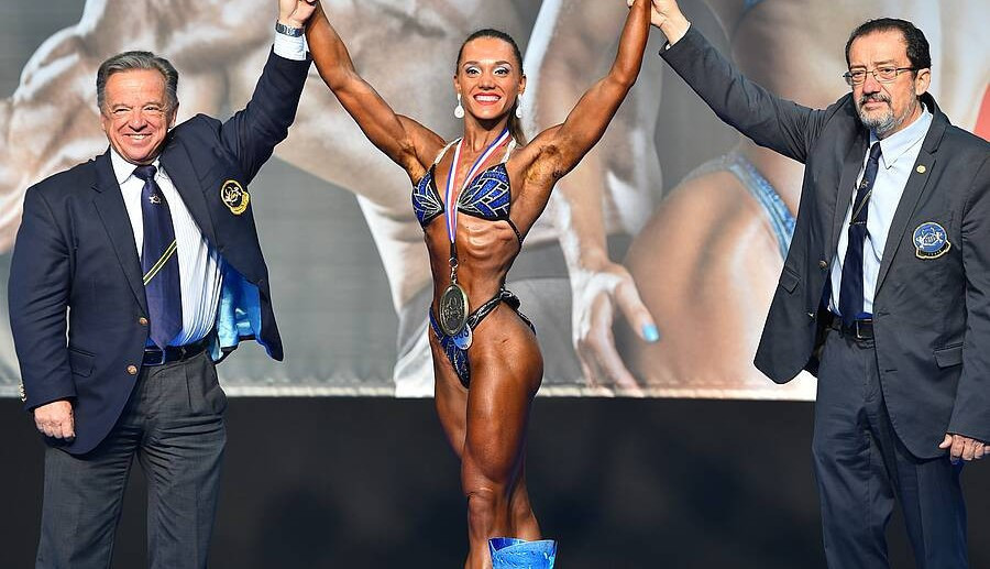 Home athlete Pozzi triumphs at European Fitness and Bodybuilding Championships