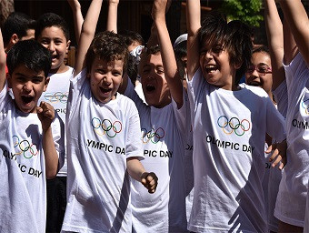 TOC celebrate Olympic Day in Gaziantep