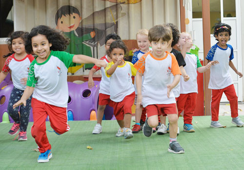 The Baby Games have been designed to promote active lifestyles among children ©OCA