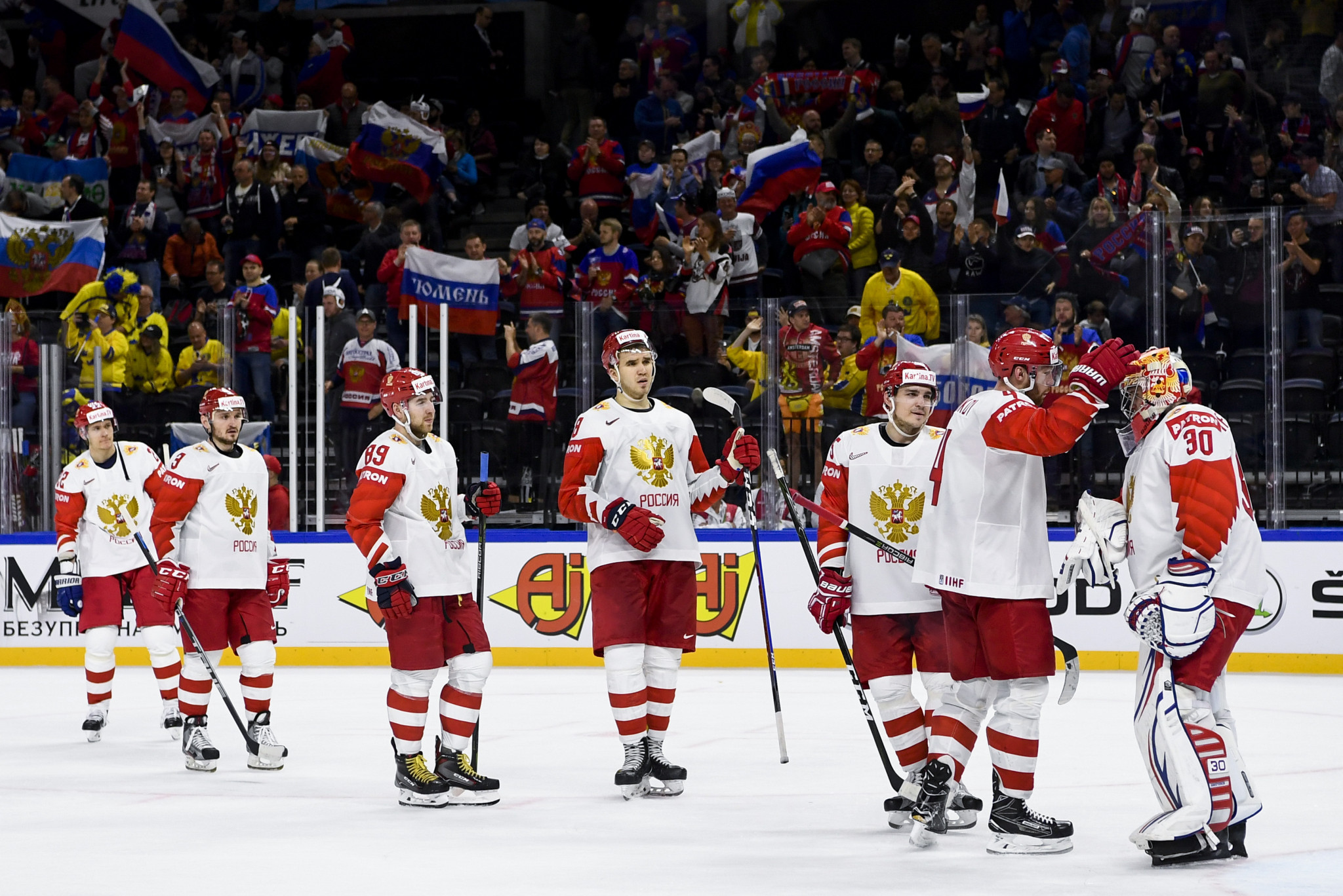 Good day for favourites at IIHF World Championship