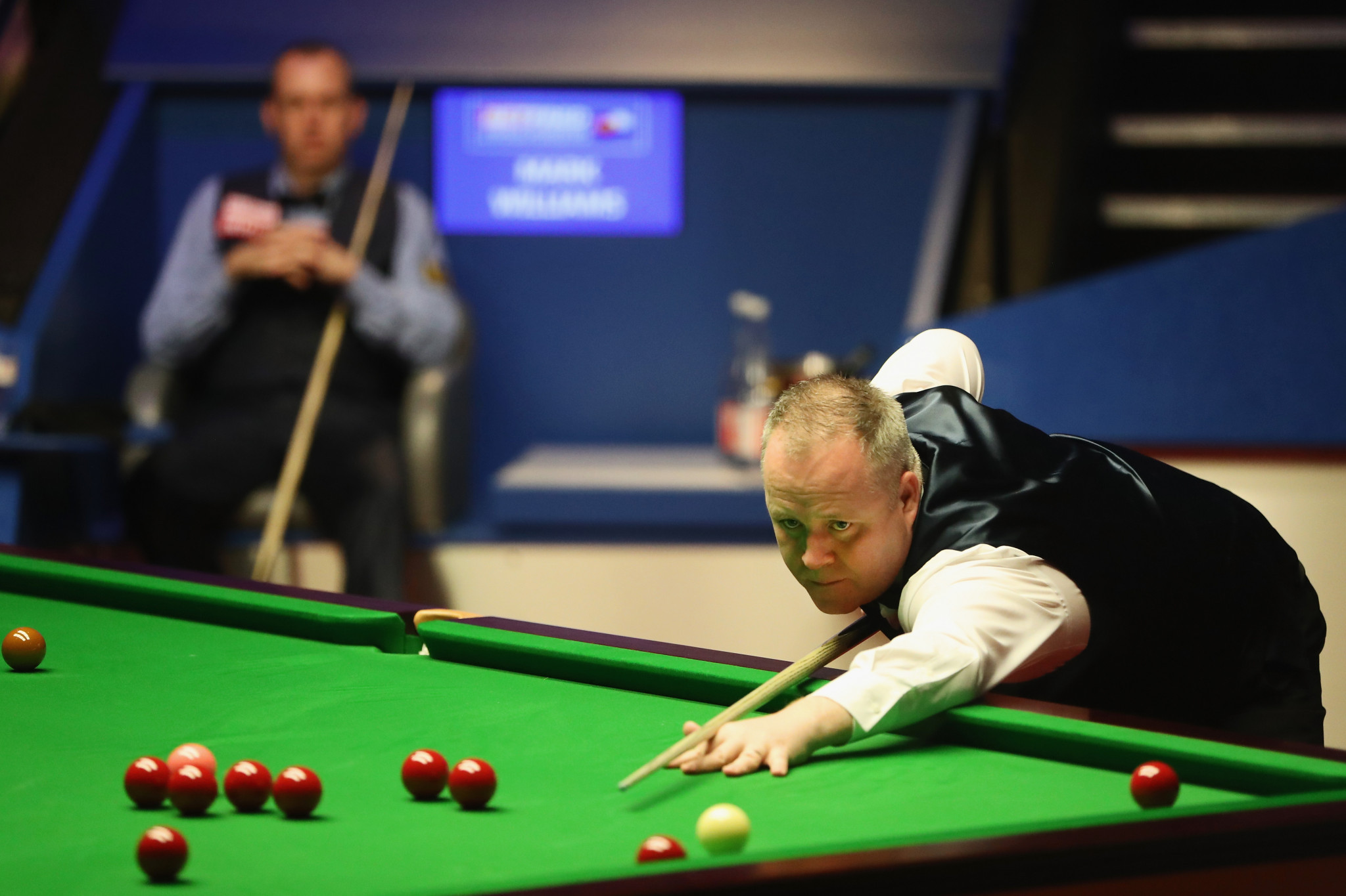 John Higgins will need to come from behind if he is to win a fifth world title ©Getty Images