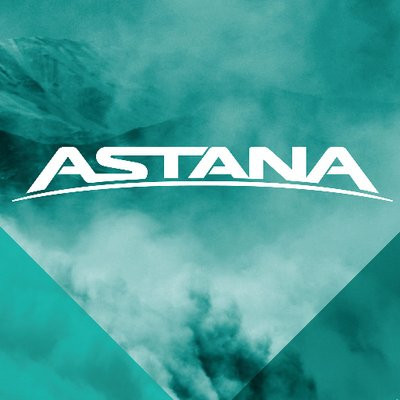 Astana apologise after nearly hitting volunteer with support car