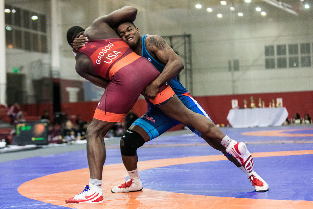 Cuba and the US were the dominant teams in the men's freestyle events ©UWW