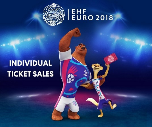 Individual match tickets for European Women's Handball Championship go on sale