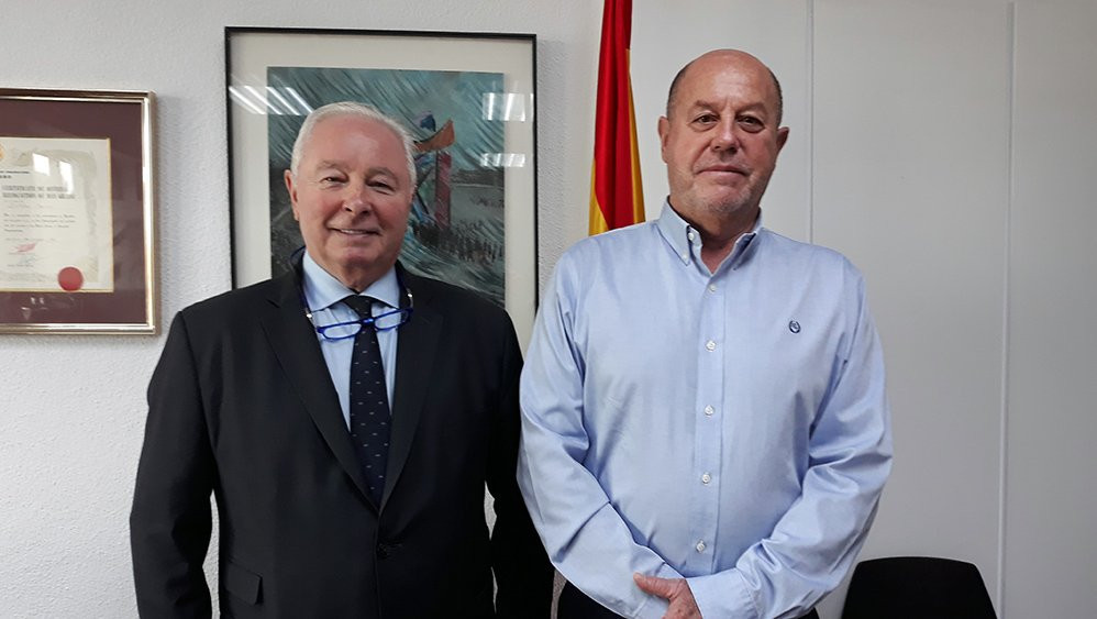 WKF President and treasurer hold discussions in Madrid