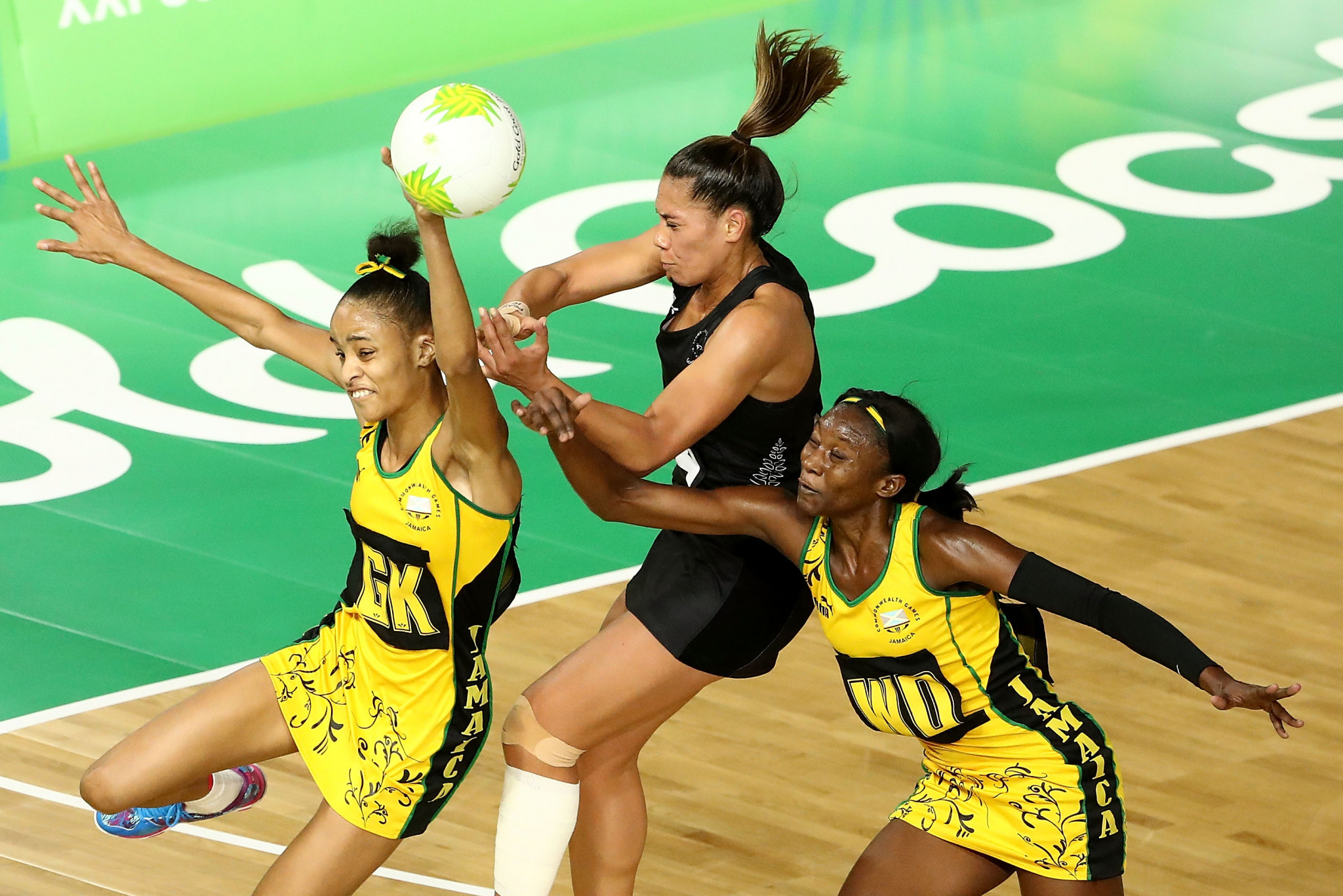 New Zealand lost the bronze medal match at the Commonwealth Games to Jamaica ©Getty Images