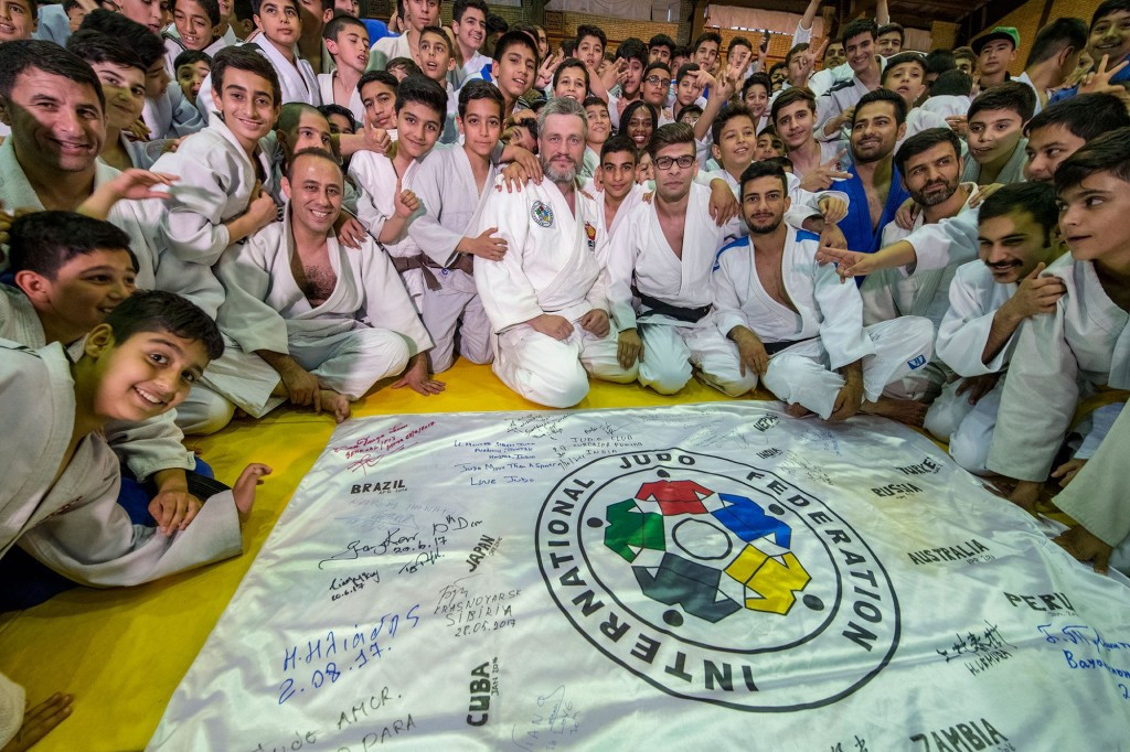 Iran Judo Federation President hails success of IJF education programme