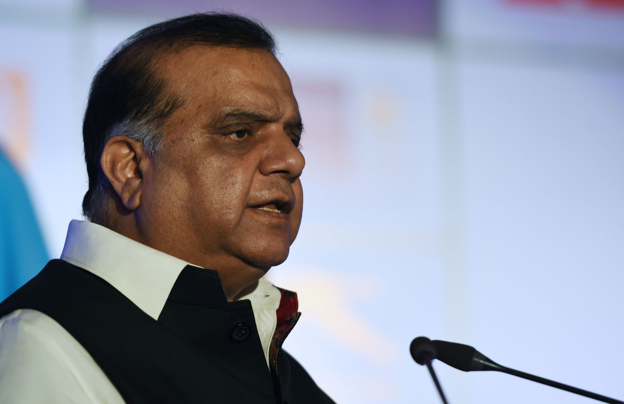 Narinder Dhruv Batra once again emphasised India's intention to bid for the 2032 Olympic Games ©Getty Images
