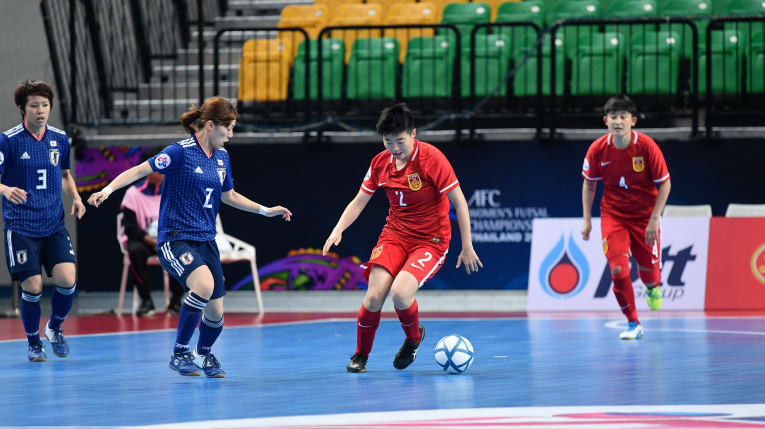Japan win Group C as quarter-final line-up confirmed at AFC Women's Futsal Championship