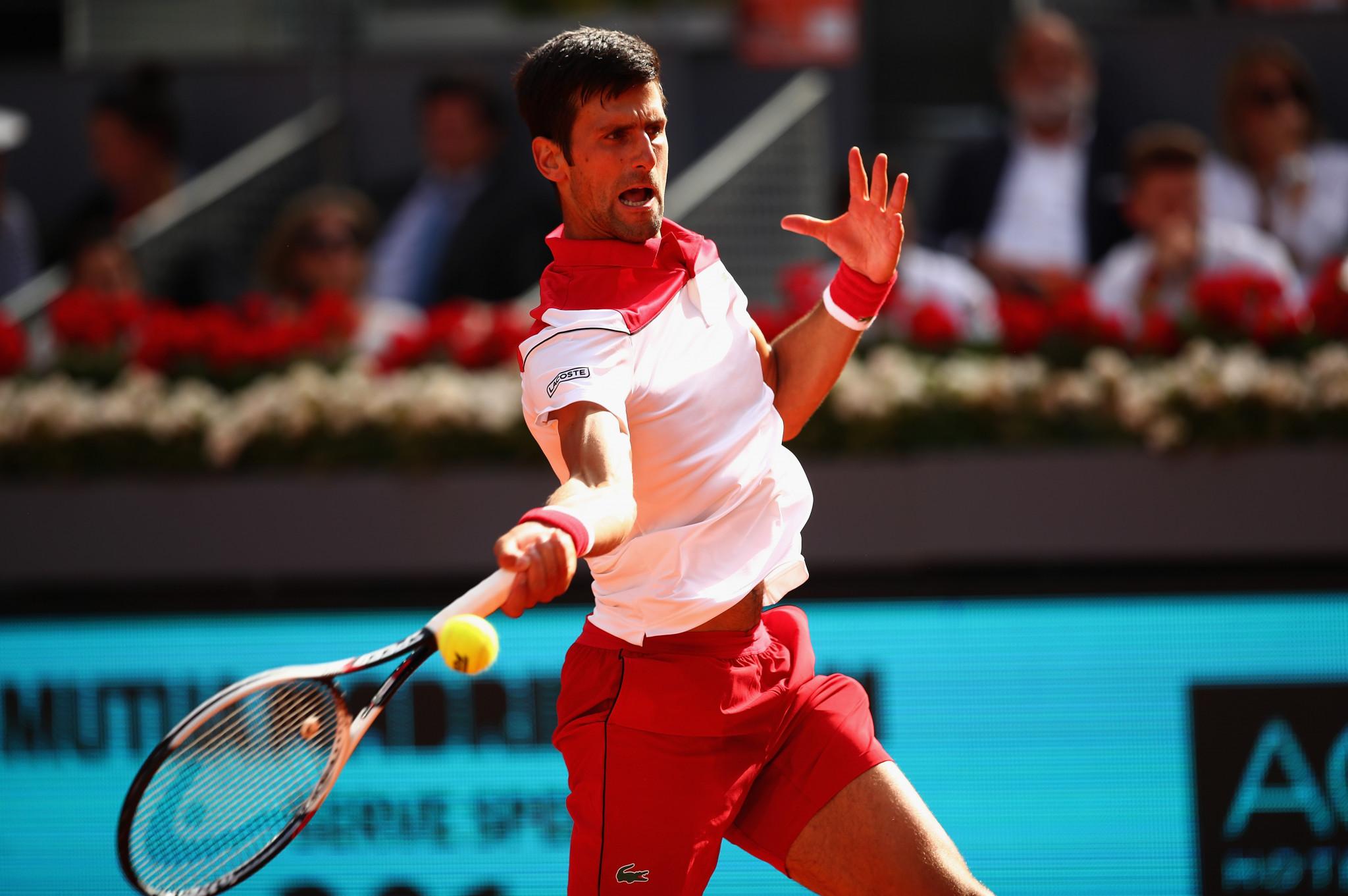 Djokovic rediscovers form with victory over Nishikori at Mutua Madrid Open