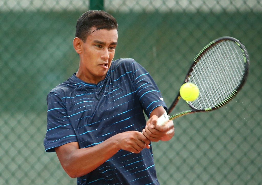 Sasikumar Makund maintained India's dominance of the tennis competition by winning boy's singles gold