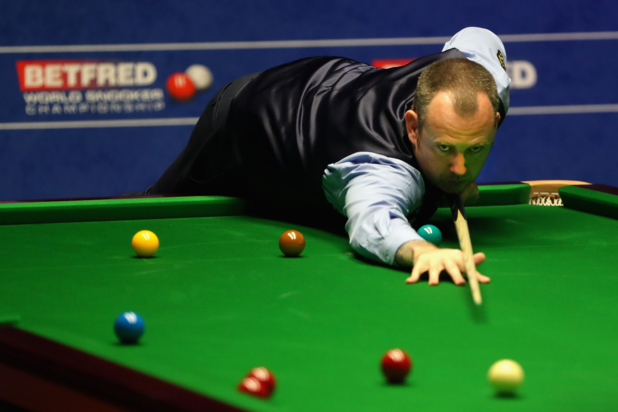 Mark Williams last won the world title in 2003 and failed to qualify for the 2017 tournament ©Getty Images