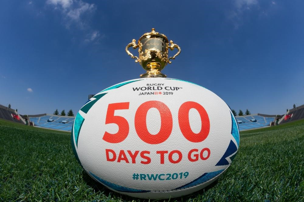 World Rugby praise preparations for 2019 World Cup in Japan as organisers celebrate 500 days to go
