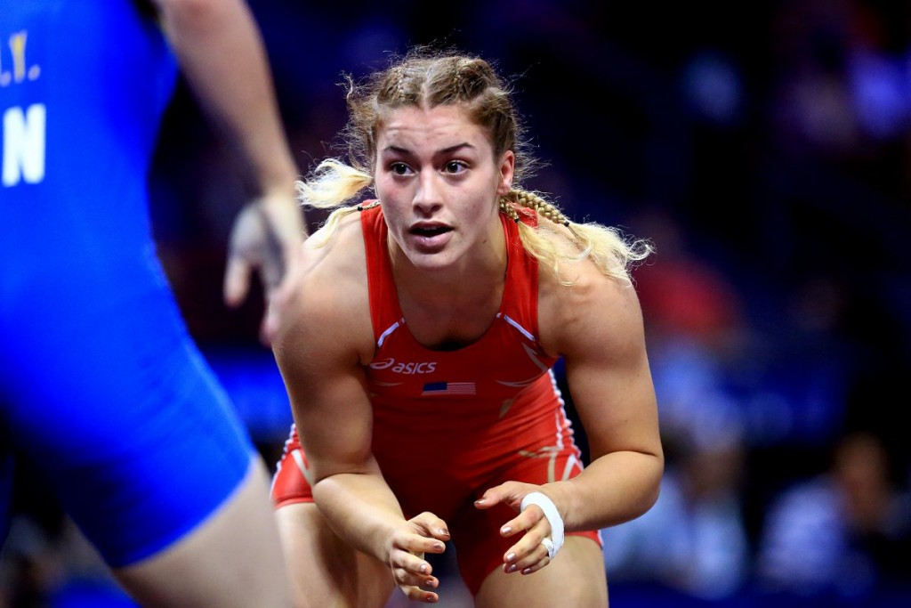 Hosts United States claim double women's freestyle gold at Wrestling World Championships