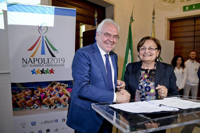 The Italian National Olympic Committee are among those helping to support the event ©Naples 2019