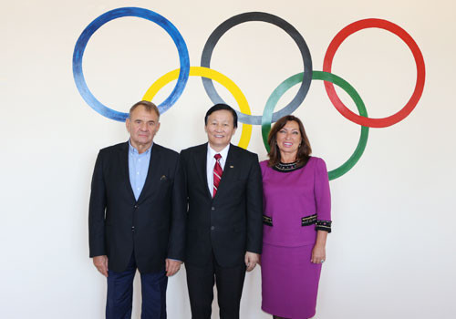 Mongolian National Olympic Committee invite Ukrainian experts to speak at seminar