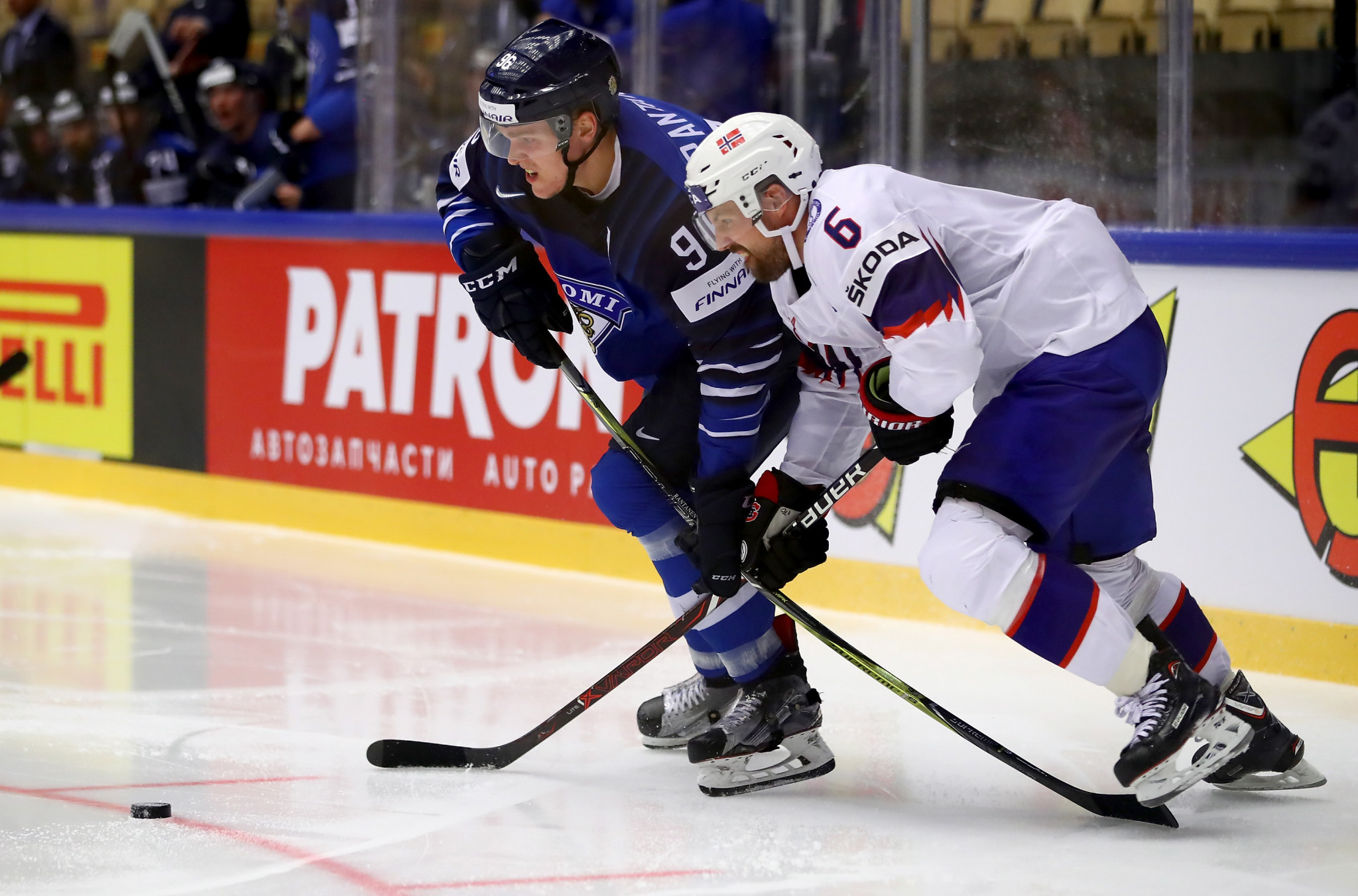 Finland go top of Group B with comfortable win over Norway at IIHF World Championship
