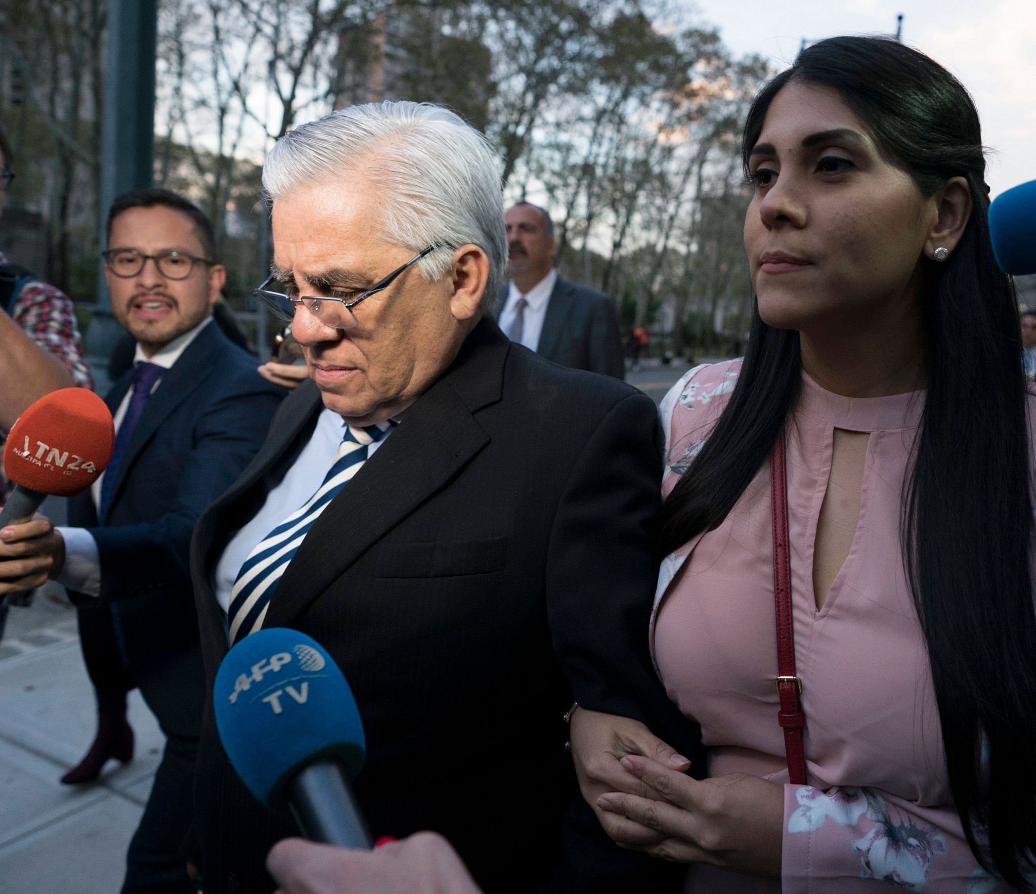 Former Guatemalan judge Hector Trujillo has been banned from football for life by the FIFA Ethics Committee ©Getty Images