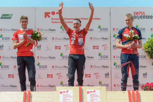 Kyburz clinches fourth gold as Teini wins maiden title at European Orienteering Championships