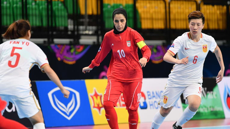 Iran book semi-final place at AFC Women's Futsal Championship with victory over China