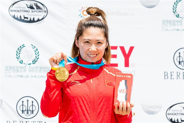 China dominate opening day of ISSF World Cup in Fort Benning