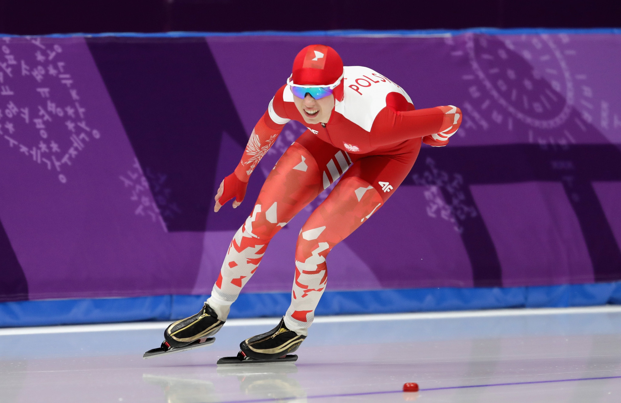 Polish speed skater Karolina Bosiek is one of five candidates ©Getty Images