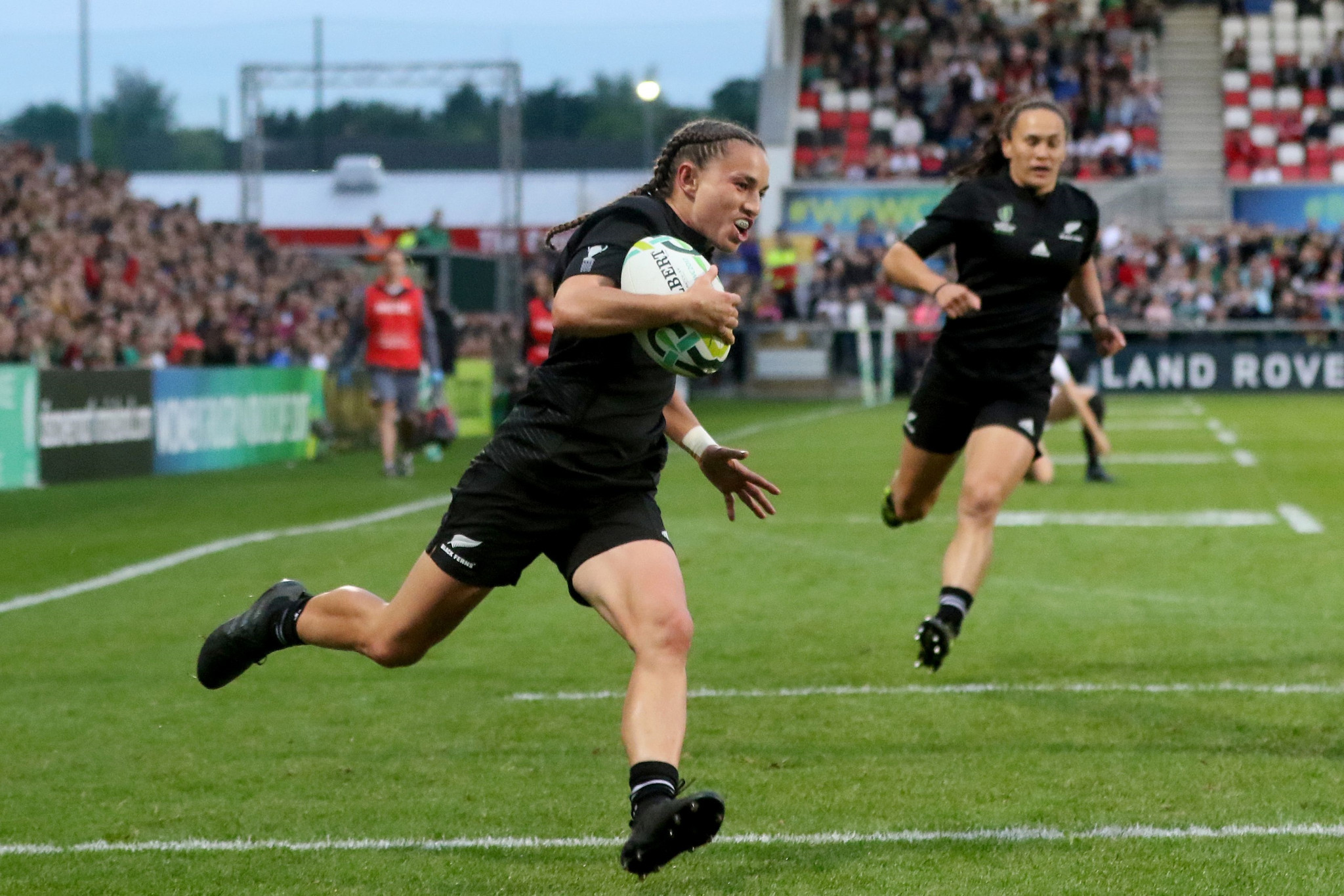 New Zealand won the last edition of the Women's Rugby World Cup, held in Ireland in 2017 ©Getty Images