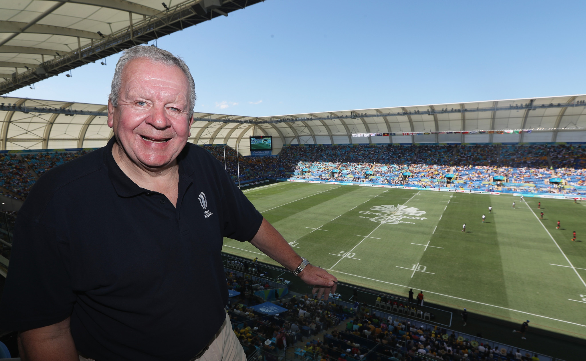 World Rugby chairman Bill Beaumont says 2017 was fantastic for women's rugby ©Getty Images