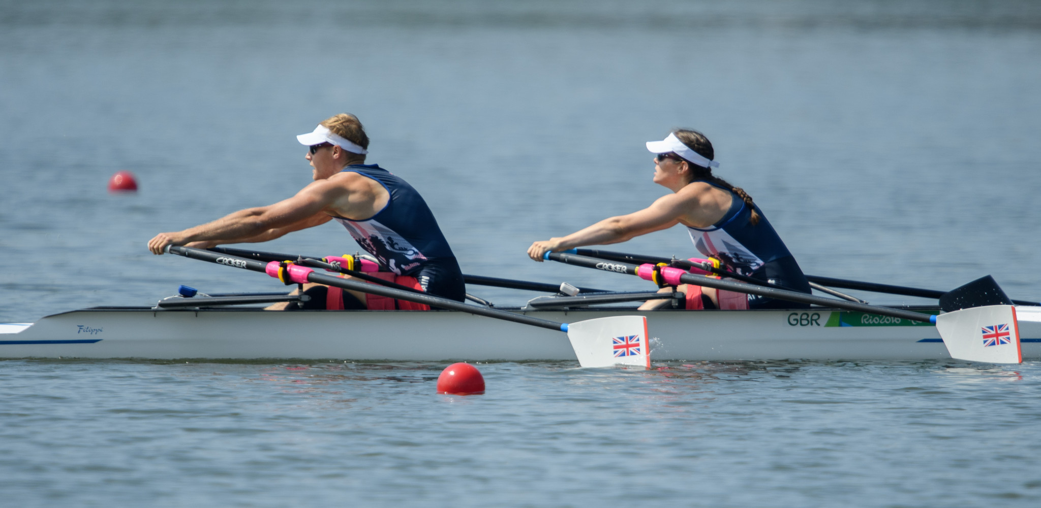 Laurence Whitely and Lauren Rowles will be seeking a return to their Paralympic gold medal winning form ©Getty Images
