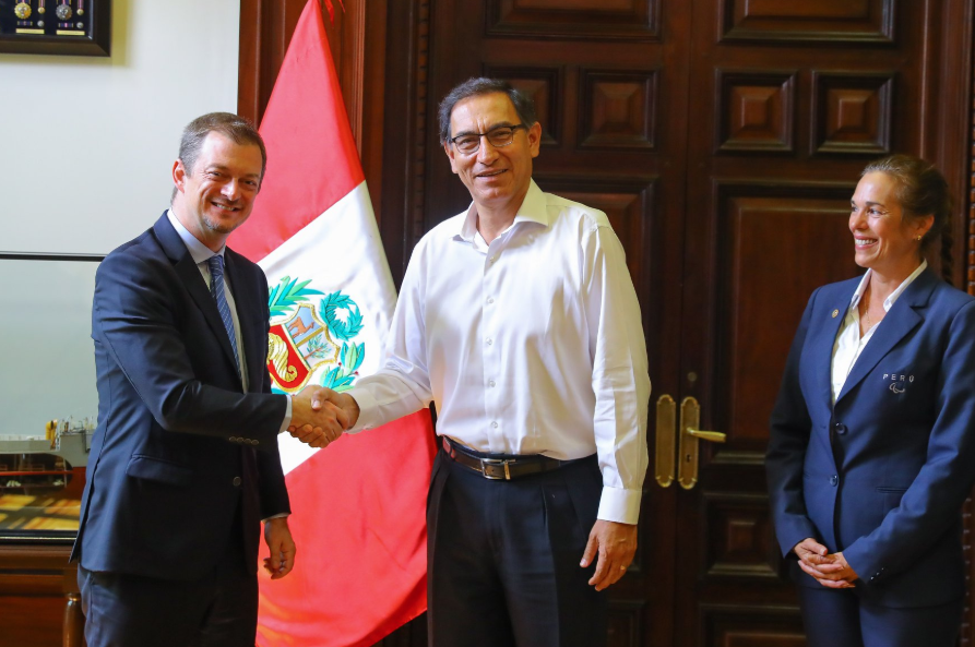 Peruvian President reaffirms support for Paralympic Movement in meeting with IPC head