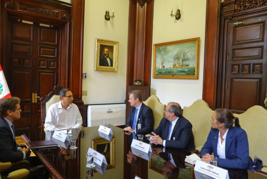The historic meeting focused on how Peru can best promote the Paralympic values in its society ©Lima 2019