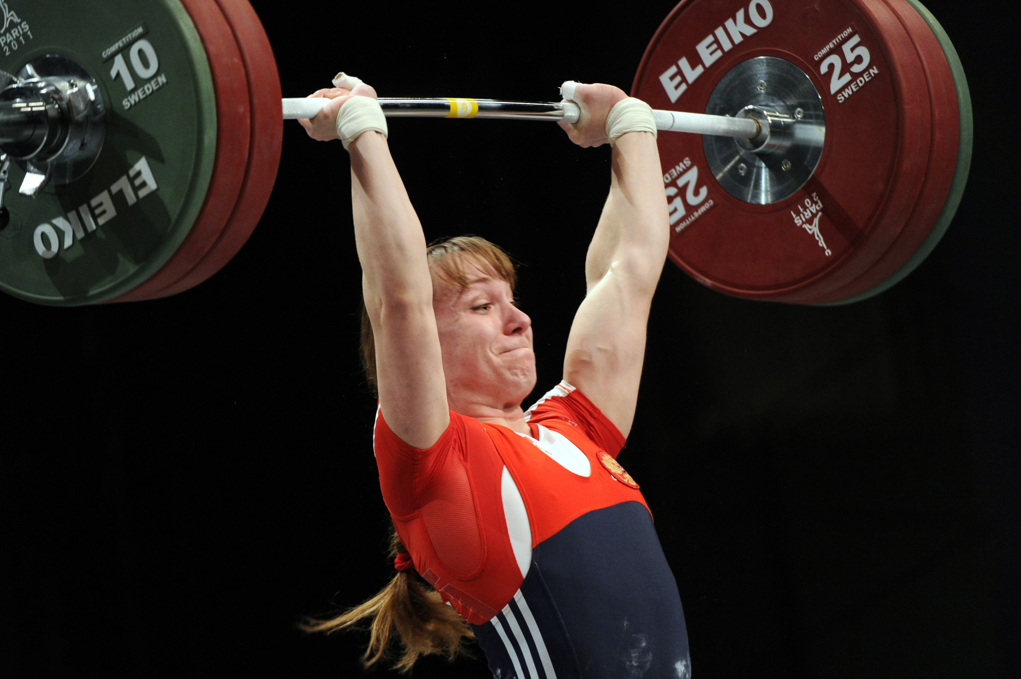Marina Shainova is among other Russian weightlifters to receive doping bans ©Getty Images