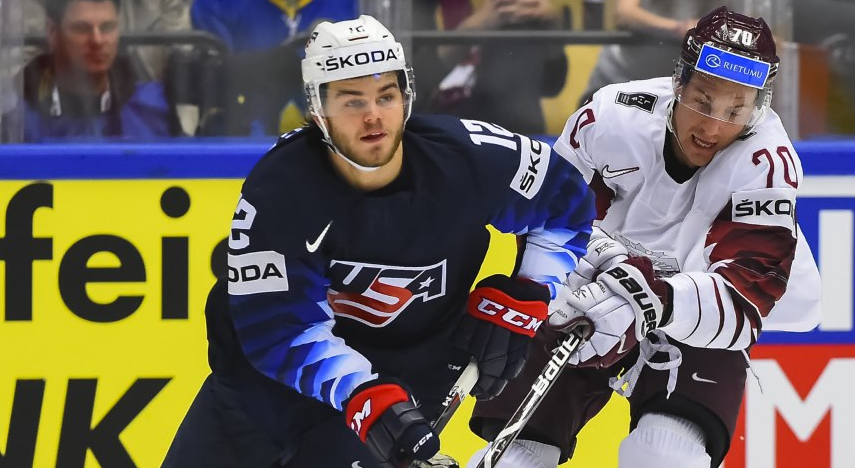 United States survive Latvian overtime test at IIHF World Championship
