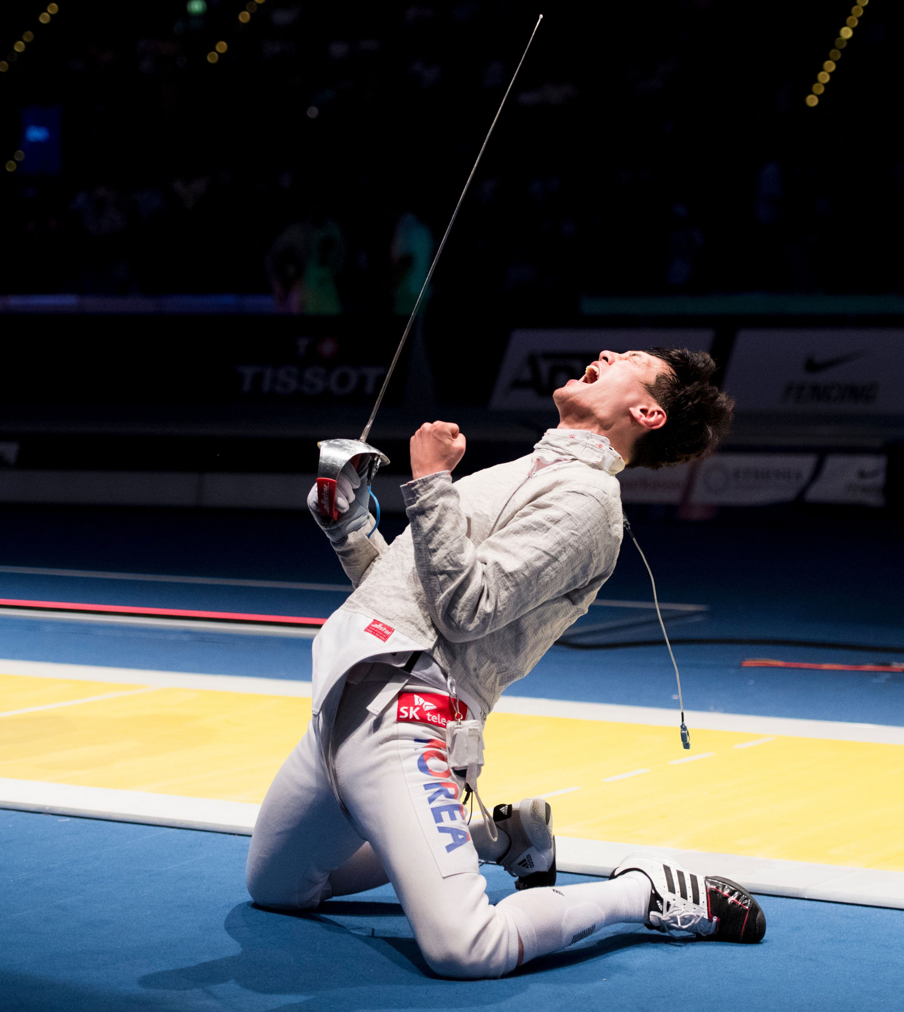 Gu leads star-studded field for FIE Sabre Grand Prix in Moscow