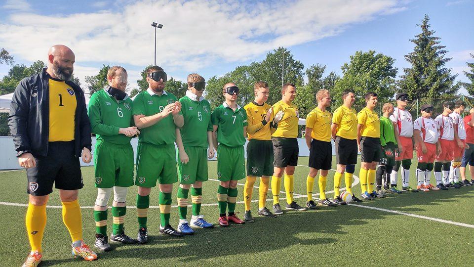 Poland survive Ireland threat at Blind Football Euro Challenge Cup