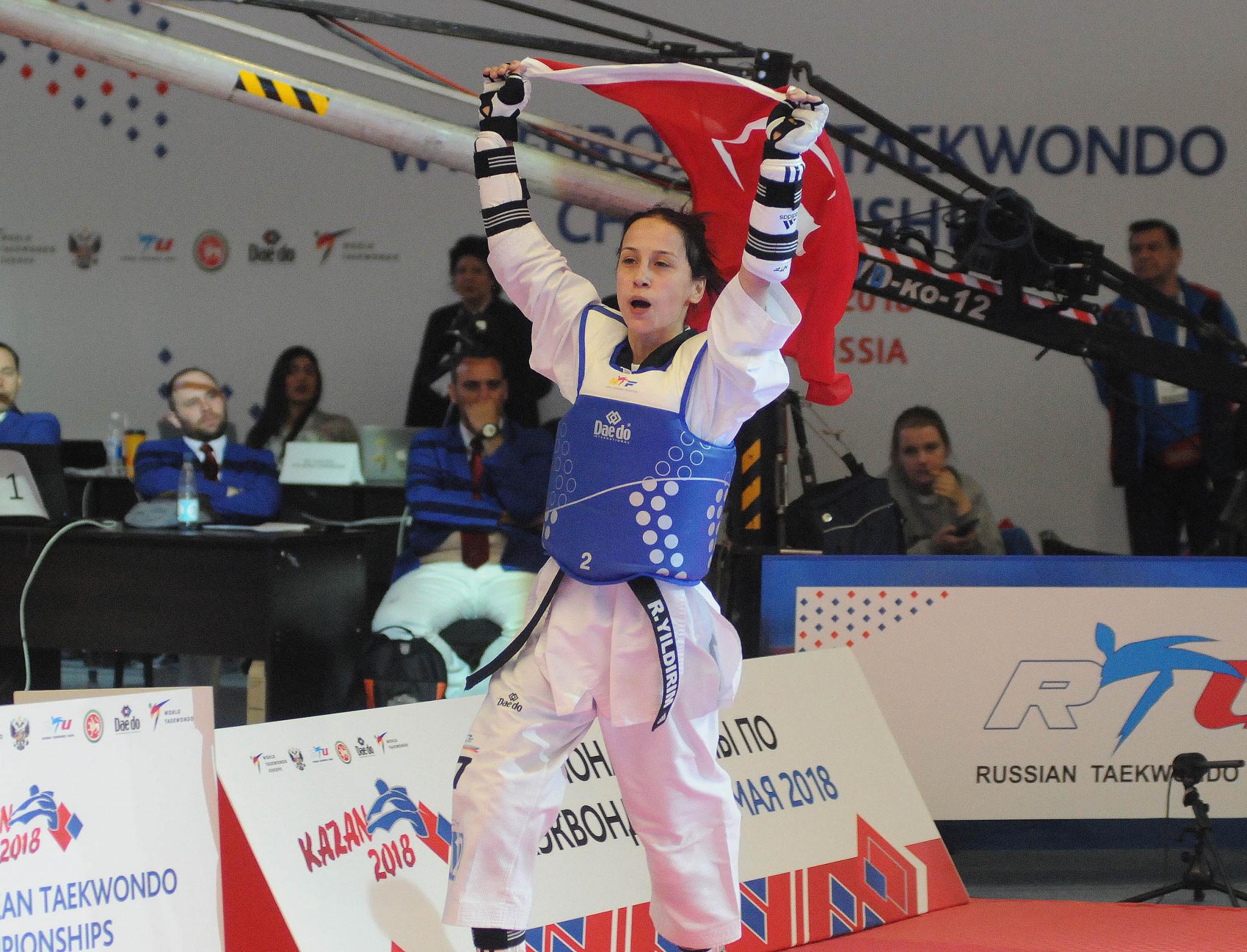 Turkey's Yildirim among winners on opening day of European Taekwondo Championships