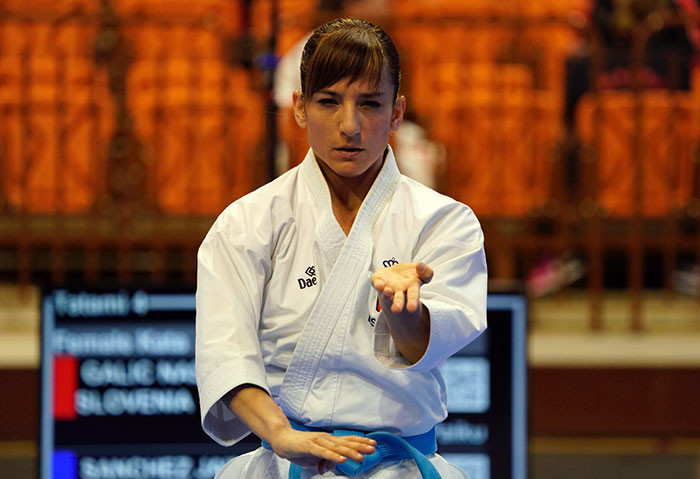 Spanish stars ease into kata finals at European Karate Championships