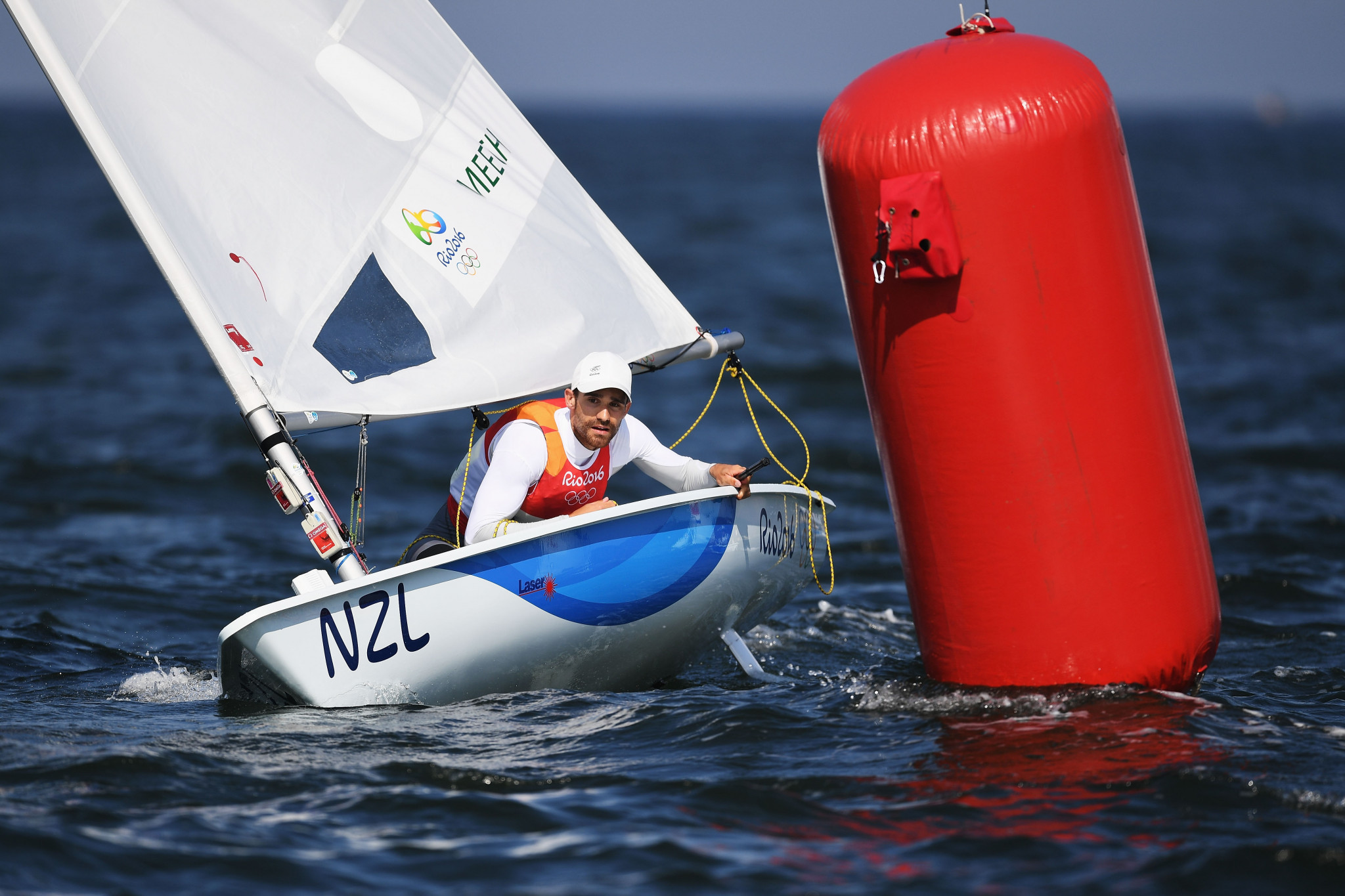 Wearn and Meech continue close battle at European Laser Championships