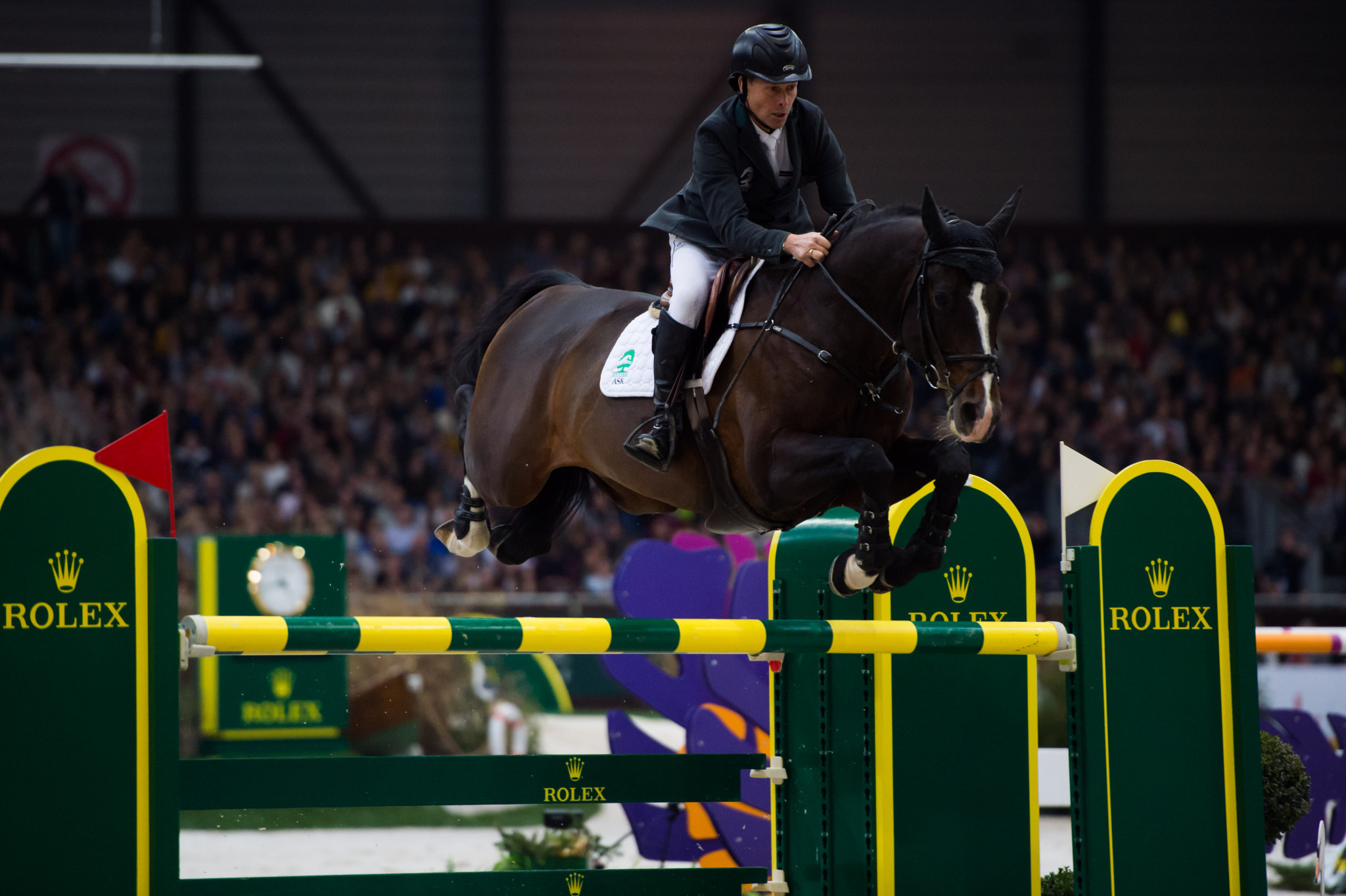 Defending champion Rolf-Goran Bengtsson will ride a new horse after the retirement of Casall ©Getty Images