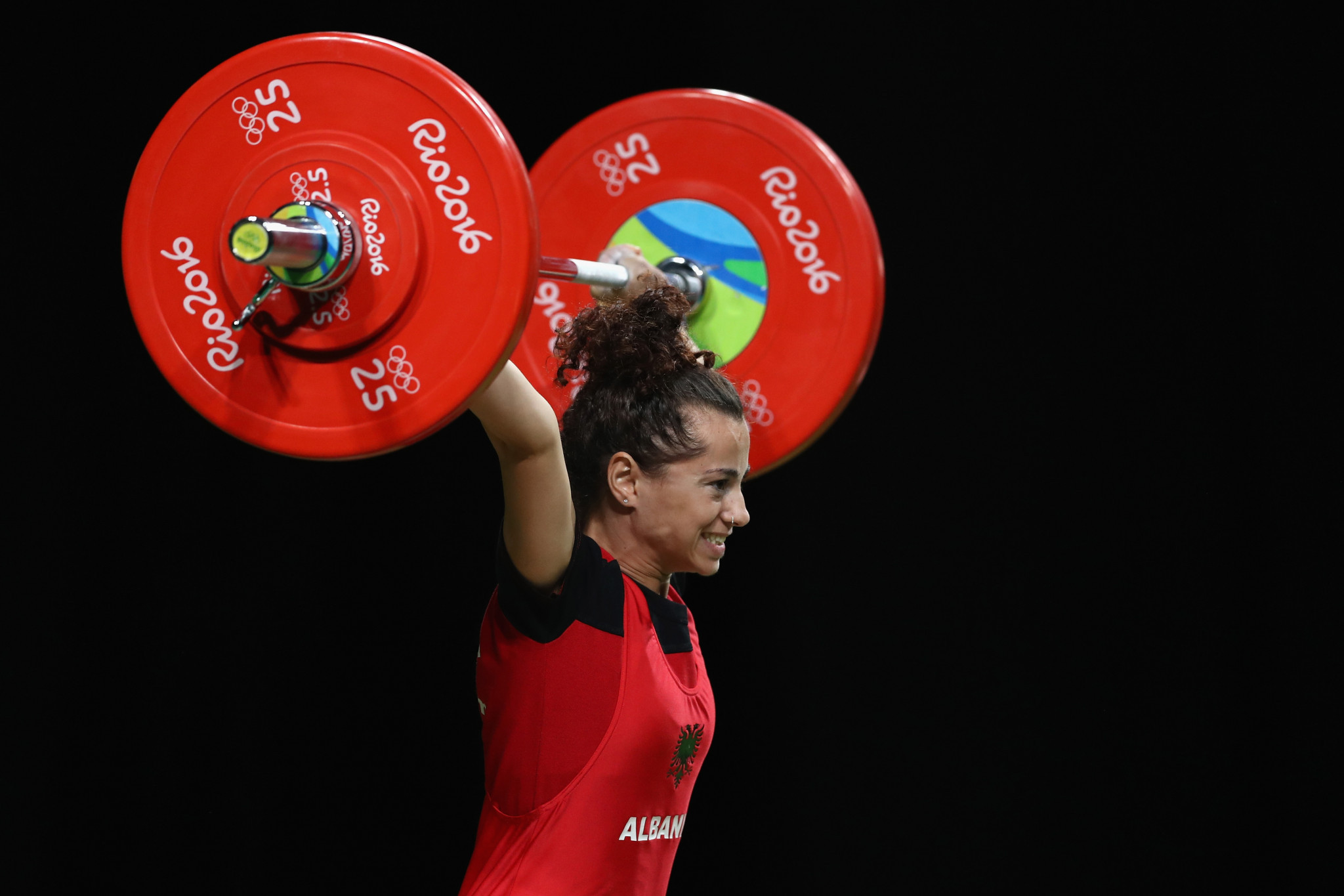 Evagjelia Veli finished eighth at 53kg in the Rio Olympics ©Getty Images