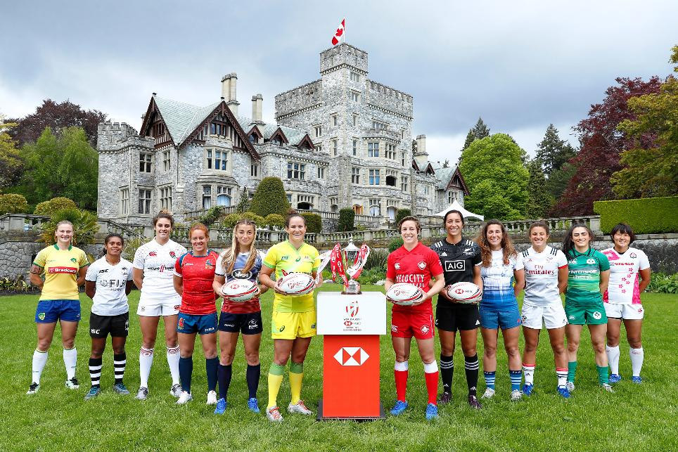 New Zealand aiming to take step towards overall title defence at World Rugby Women's Sevens Series event in Langford