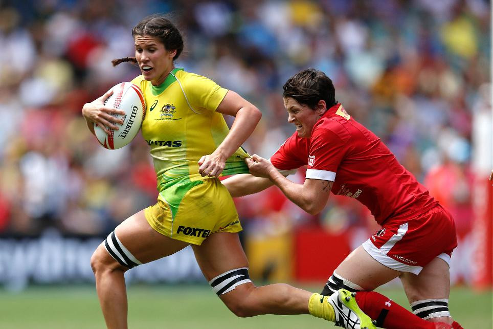 Australia are the current leaders on the overall standings ©World Rugby