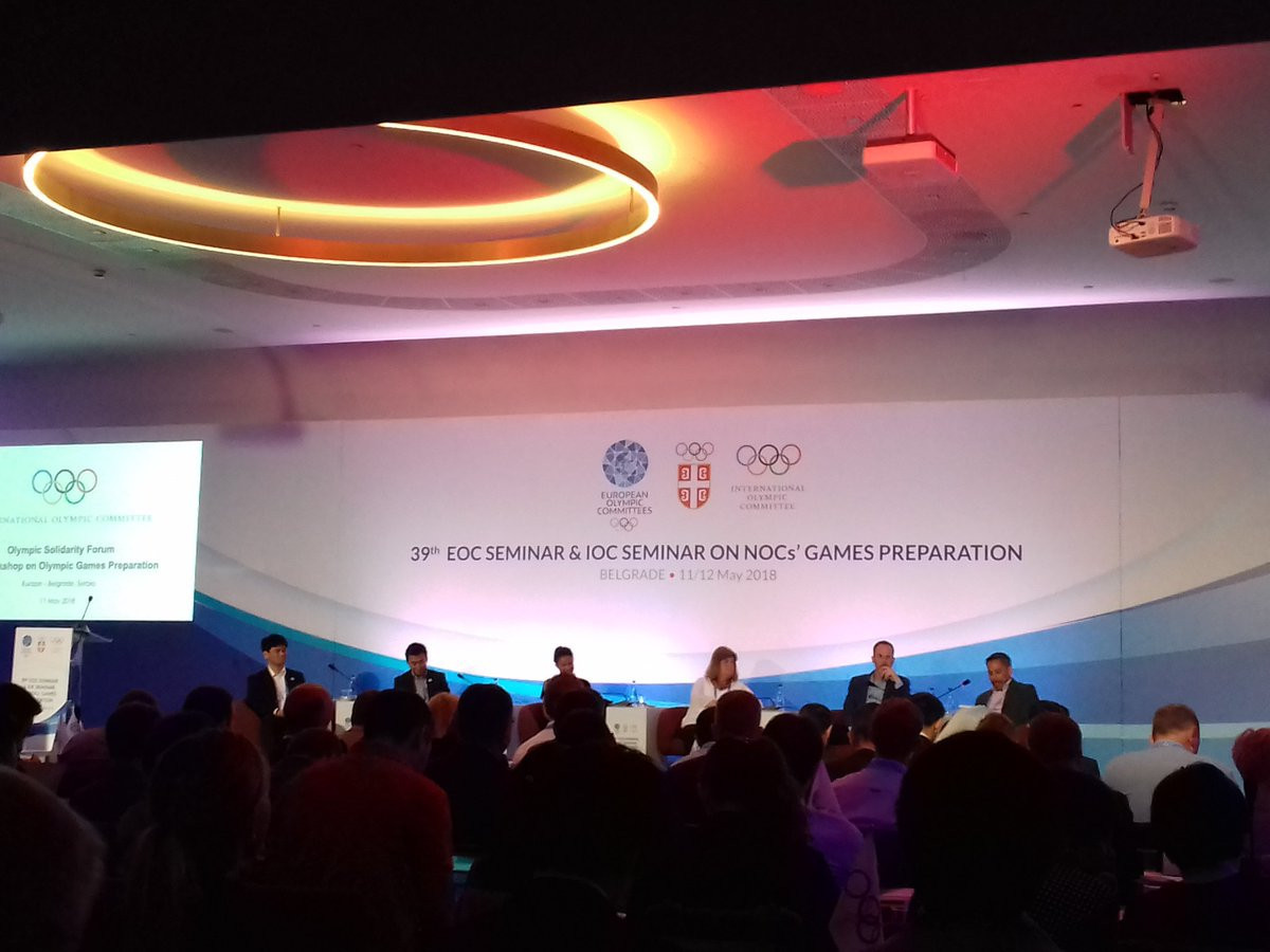 Games preparation workshops held on opening day of EOC seminar