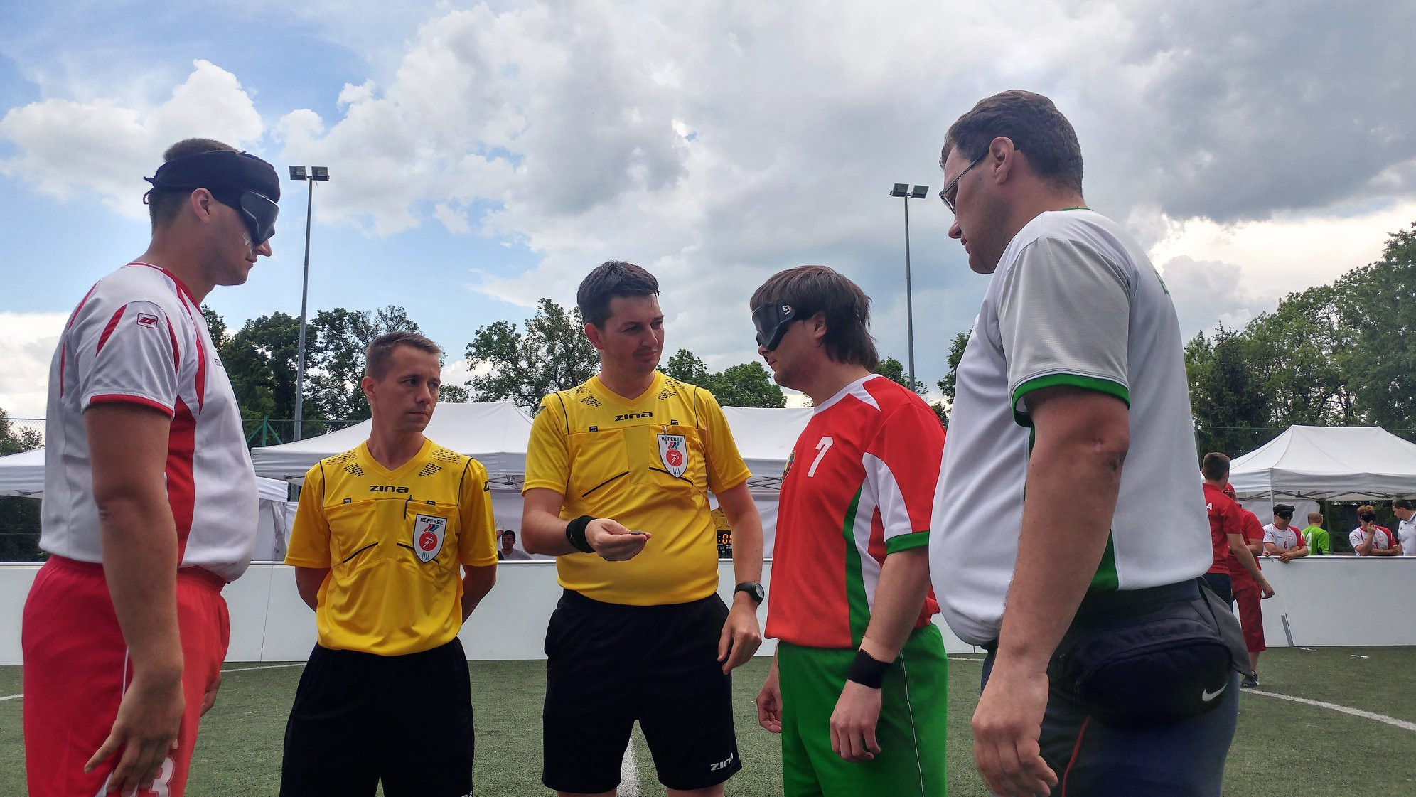 Poland and Ireland to meet in final of Blind Football Euro Challenge Cup