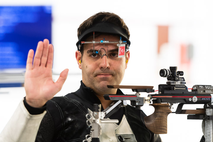 Julian Justus wins first international air rifle gold at ISSF World Cup