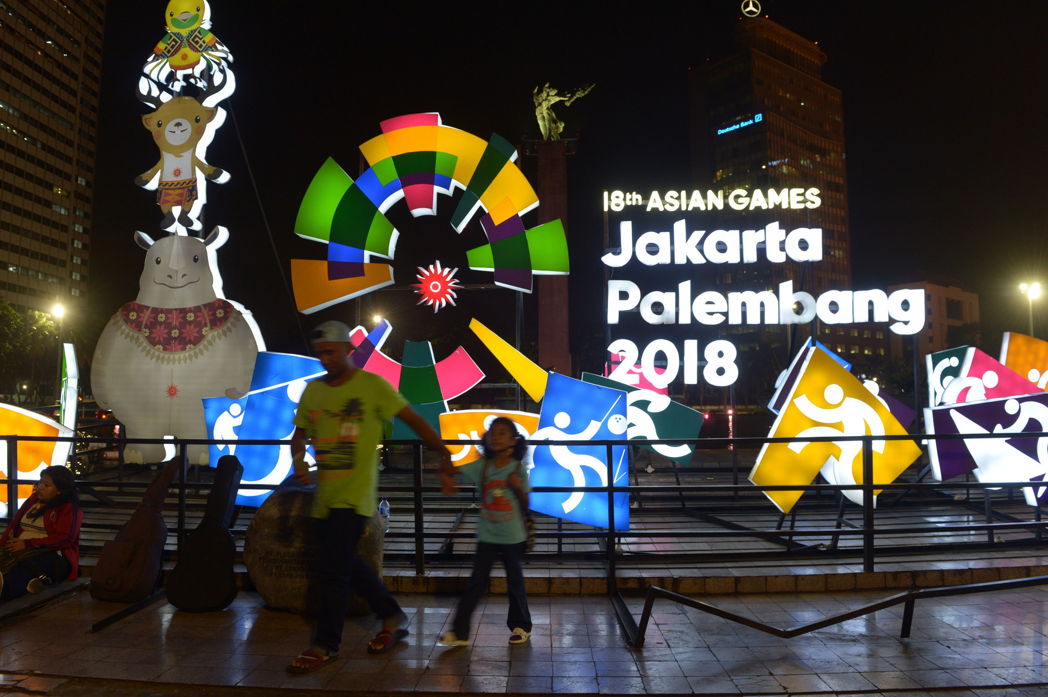 Preparations for the Jakarta Palembang Asian Games led discussions ©Getty Images